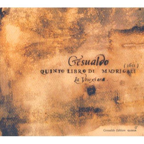 Gesualdo 5ème vlivre madrigaux