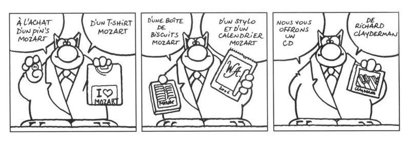 Le Chat et Mozart
