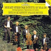 Mozart Quintettes Melos Quartet