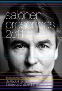 Affiche Présences Salonen 2011