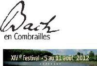Affiche Bach  en Combrailles 2012