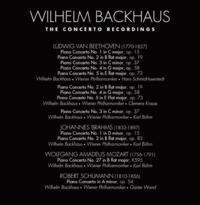 Verso intégrale Backhause concertos