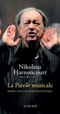 LA parole musicale Harnoncourt