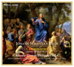 Cover Bach Consolatio