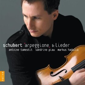 Les disques coups de coeur 2010: Schubert Arpeggione & lieder